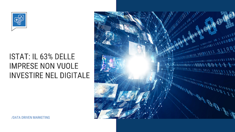 Istat: 63% of companies do not want to invest in digital