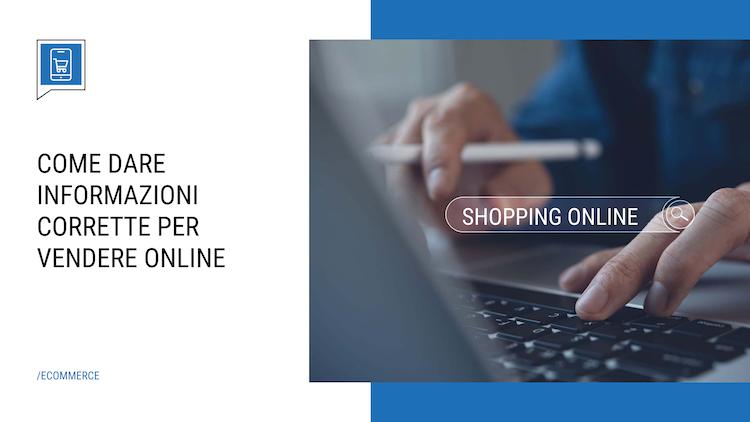 Informazioni sui prodotti online, come darle corrette?